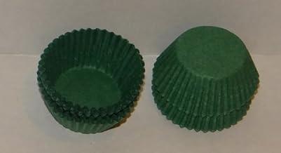 #4 أكواب حلوى ورقية خضراء 1000 عبوة من لوازم صنع الحلوى