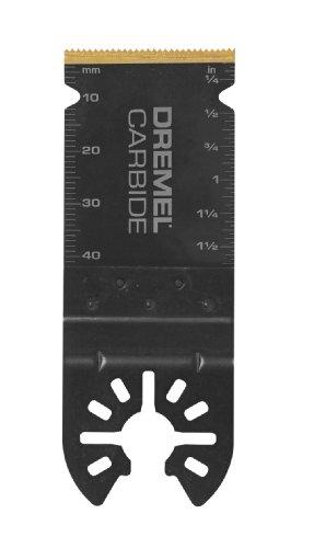 Dremel MM485 Carbide Flush Cut Oscillating Tool Blade – Universal Quick Fit System