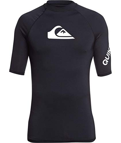 Quiksilver All Time Ss - Camisa de surf de manga corta para hombre - azul - X-Large