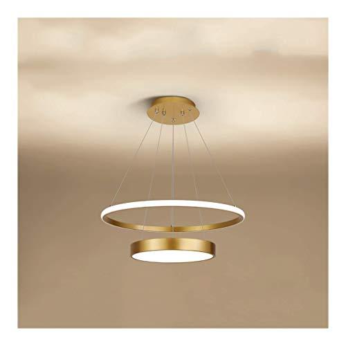 GaoF Lámpara de araña LED, Simple y Moderna Mesa de Comedor para el hogar Mesa de Bar Lámpara de Sala de Estar Dormitorio Lámpara de araña nórdica [Clase energética A ++]