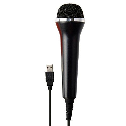 G-Dreamer USB Universal Karaoke Mic Microphone for PS4/Xbox One Wii U & PC