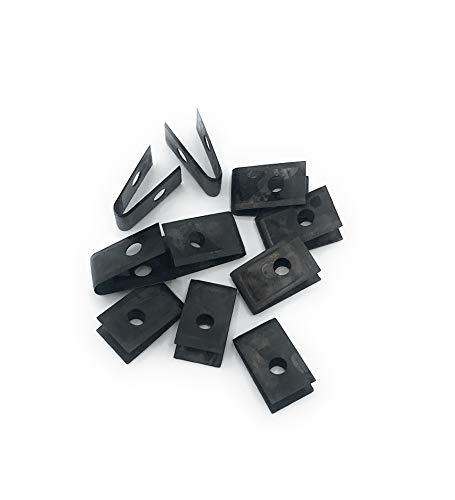 /Conjunto de cuchillas rebajadoras 8/redonda tama/ño grande Sheffield steel blades/