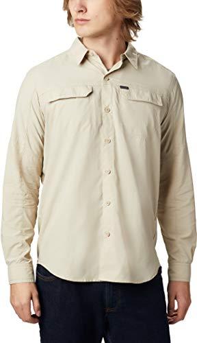 Columbia Ridge2.0 Long Sleeve Shirt, Silver Ridge 2.0, Camicia a Maniche Lunghe, Uomo, Fossil, L