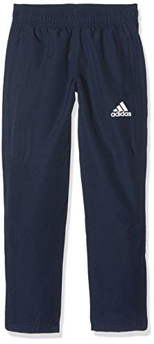 adidas Tiro 17 Woven Pant Youth Pantalón, niños, Azul/Blanco (Maruni), 116