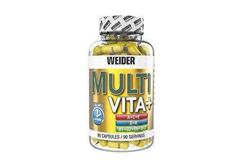 Weider, Multi Vita + Special B-Complex, 1er Pack (1x 90 Kapseln)