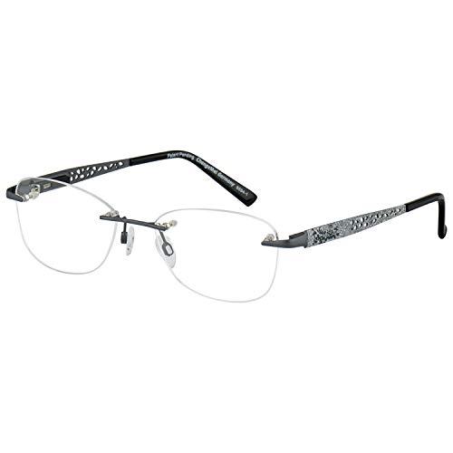 Change Me randlose Brille 2410-2 mit Wechselbügel 8594-1 grau