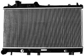 TYC 2777 Compatible with Subaru Legacy 1-Row Plastic Aluminum Replacement Radiator