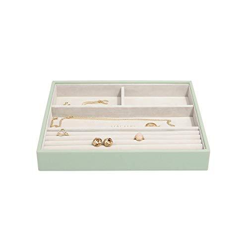 Stackers Boîte à bijoux classique Vert sauge Taille M