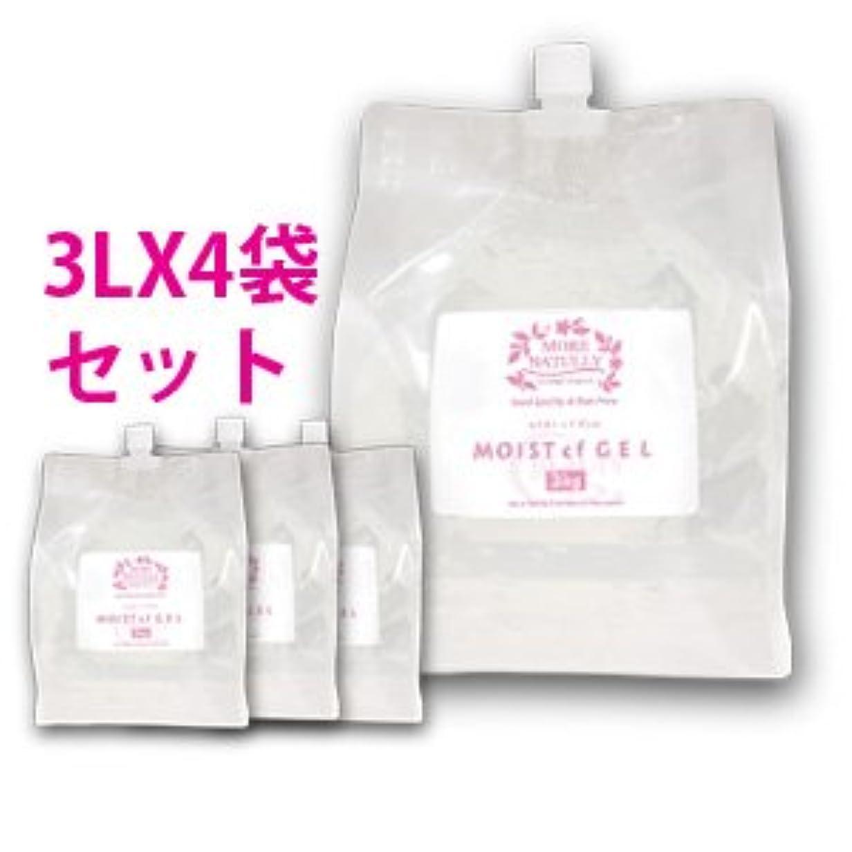 生き残り腹縫い目モアナチュリー モイストcfジェル 4袋セット 3kg×4袋