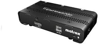 Matrox T2G-DP3D-IF TripleHead2Go DisplayPort multi-display adapter 3 DVI mini-DisplayPort