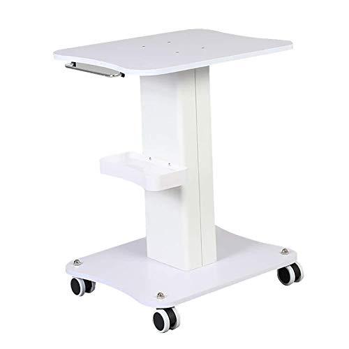 Cosmetica-wagentje voor beauty salon spa, voor medische instrumenten, met opbergschaal en wielen, ideaal voor beauty kapsalons laadvermogen 50 kg medische wagen
