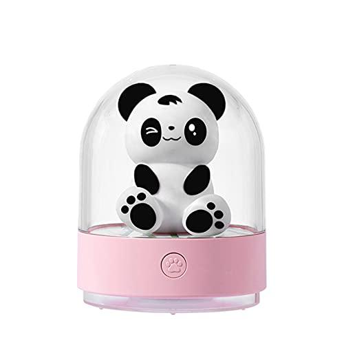 Lámpara de noche recargable USB Luz de noche con control remoto Lámpara de mesa LED de 7 colores que cambian con batería de 800 mAh con función de atenuación para niños Ideal para dormitorio infanti