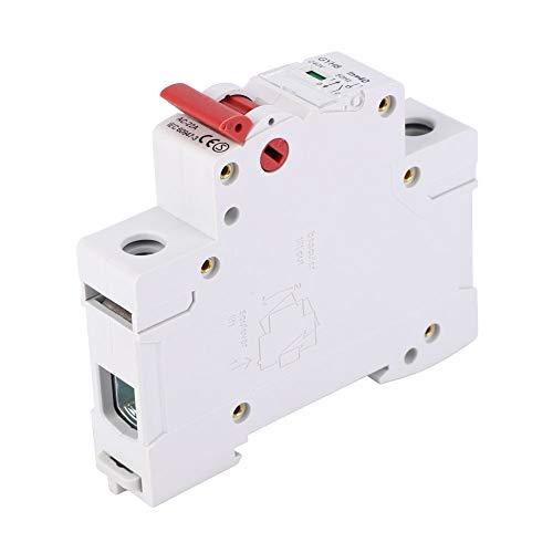 Interruptor de aislamiento Interruptor de circuito en miniatura Interruptor de aire de tamaño pequeño para protección de circuito(63A)