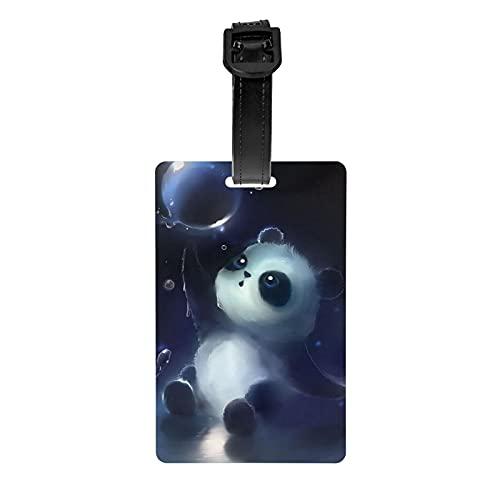 Etiqueta Para Equipaje Panda  marca GDRPDYSJR