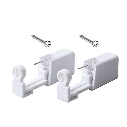 Numblartd - Pistola professionale per piercing al naso, usa e getta, per donne e uomini, portatile, per la sicurezza, senza dolore, per piercing al naso