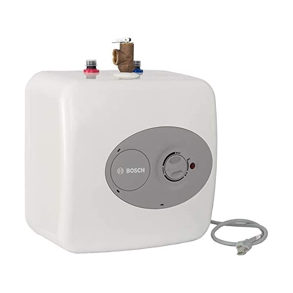 Bosch Electric Mini-Tank Water Heater Tronic 3000 T 2.5-Gallon (ES2.5)  – Eliminate...
