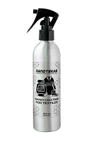 Nano Tec Fabric Coating pour Textile - Protection pour Chaussures Canap Sièges auto Rideaux Tapis et objets personnels - Spray 250 ml