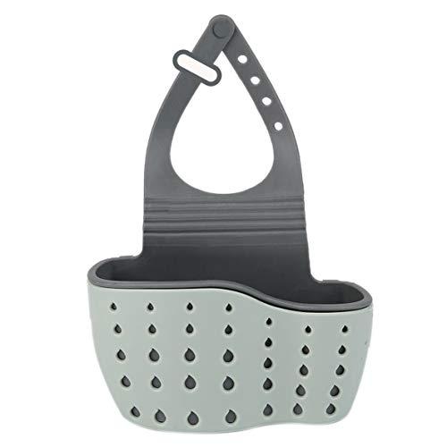 Heaviesk Einstellbare Küche Hängende Ablaufkorb Waschbecken Regal Seife Schwamm Bad Abtropfbrett Kitchen Sucker Storage Tool