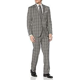 Geoffrey Beene Men's Tailored Suit-Dress Set