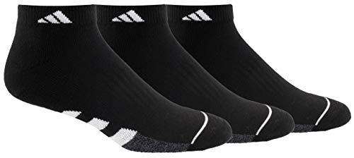 adidas Men's Cushioned Low Cut Socks (3-Pack)