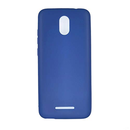 Oujietong Case for Blu View 1 B100dl Case TPU Soft Cover Blue