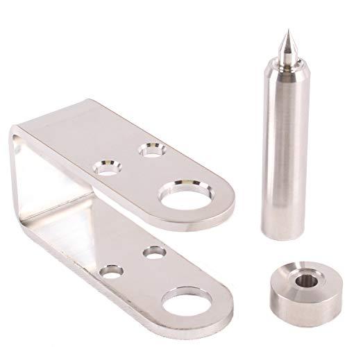 "Kydex Eyelets Assortment Kit 1/4 inch GS 8-8, 8-9, 8-10, 8-12 by QuickClip Pro USA Mil-Spec Brass Black Oxide 1/4"" DIY Grommets for Gun Holsters + Knife Sheaths (Eyelet Setter Tool 1/4"")"