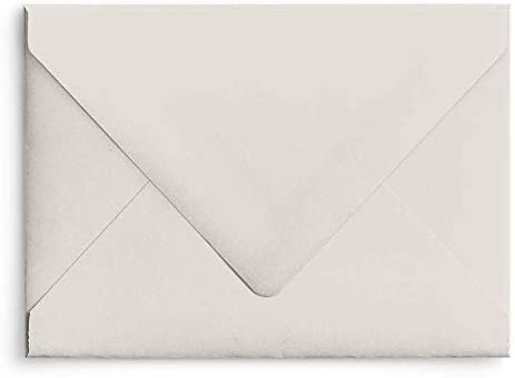 Shell A7 Euro Cheap mail order specialty store Curved Flap Matte Pack of 5 Ranking TOP2 - Invitation Envelopes