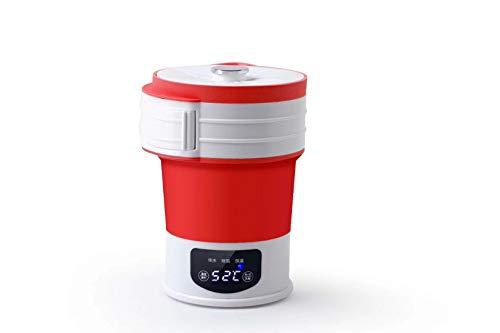 Hervidor Plegable, Hervidor, Hervidor Eléctrico De Silicona. rojo 0.6L