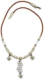 Collana di zama in argento con api per le donne, regalo originale