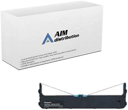 AIM Compatible Replacement for Panasonic KX-P3196 Black Printer Ribbons (6/PK) (KX-P191) - Generic