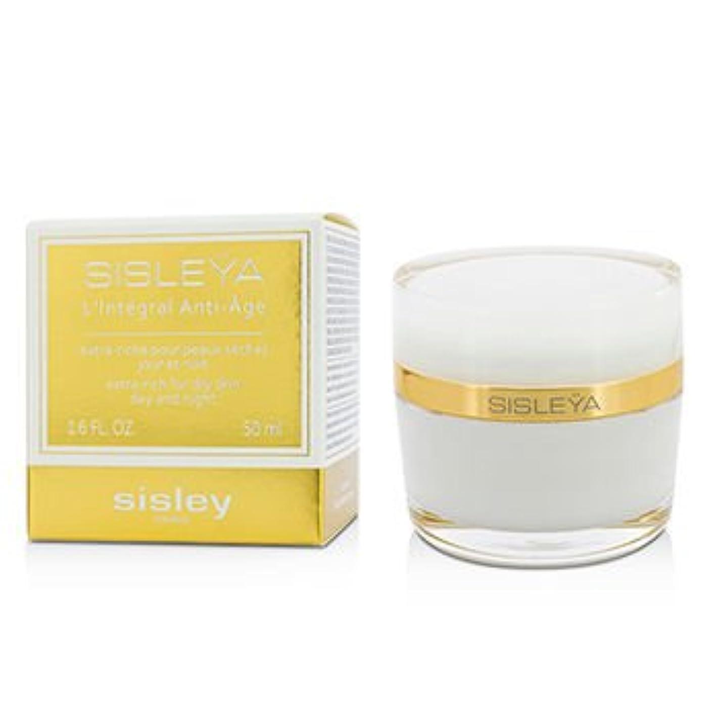 ミネラル生じる警告[Sisley] Sisleya LIntegral Anti-Age Day And Night Cream - Extra Rich for Dry skin 50ml/1.6oz