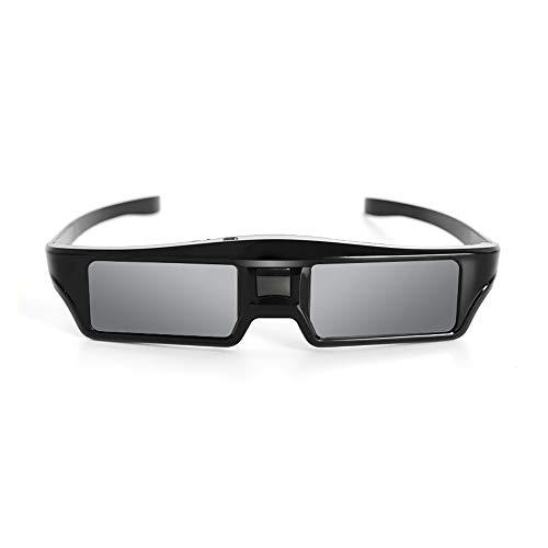 DGDFA Gafas 3D de obturador activo Bluetooth 3D
