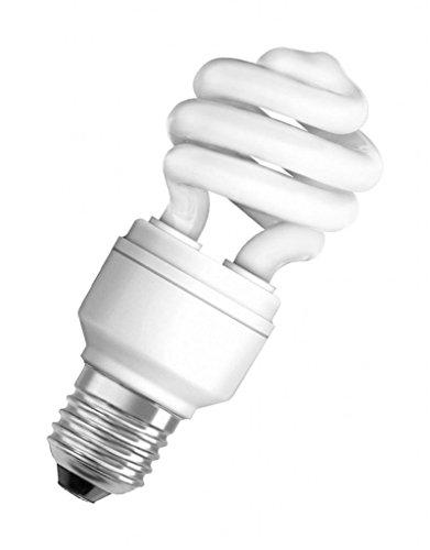 Preisvergleich Produktbild OSRAM ENERGIESPARLAMPE STAR E27 18W WARM-WEIß SPIRALFORM