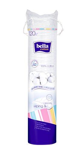 bella cotton Wattepads Duo rund, 5er Pack (5 x 120 Stück)