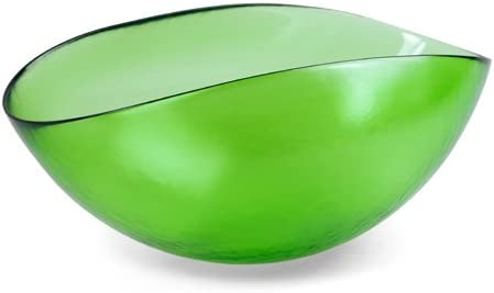 YALOS Murano Collection Happy Fruit Copa Ø mm 310 x 200 mm Cristal de Murano Made in Italy Color Verde