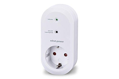ednet Smart Alarm Funksteckdose für den Innenbereich, Empfängereinheit