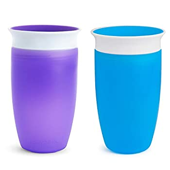 Munchkin Miracle 360 Sippy Cup Blue/Purple 10 Oz 2 Count
