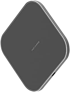 Ewigkeit Samsung 10W Qi Certified Fast Charge Wireless Charger Stand Universally Charging Pad Compatible with iPhone XS Ma...