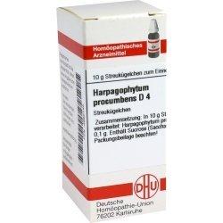 HARPAGOPHYTUM PROCUMBENS D 4 Globuli 10 g Globuli by HARPAGOPHYTUM