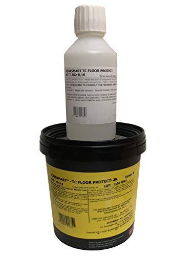 2K PU Versiegelungsharz Top Coat farblos klar für Epoxidharz Bodenbeschichtung, UV-Beständig, extra kratzfest
