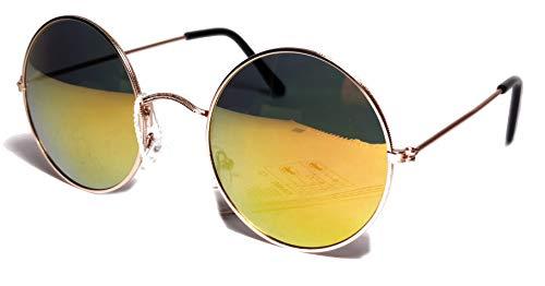 FIKO Ozzy - Gafas de sol para hombre y mujer, pequeñas y grandes, XL Lennon redondas, redondas