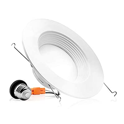 5/6-inch Dimmable LED Downlight, 12W, Baffle