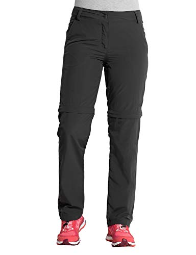 Jack Wolfskin Herren Marrakech Zip Off Pants UV-Schutz Outdoor Schnelltrocknend Freizeit, Reisehose Hose, Phantom, 36
