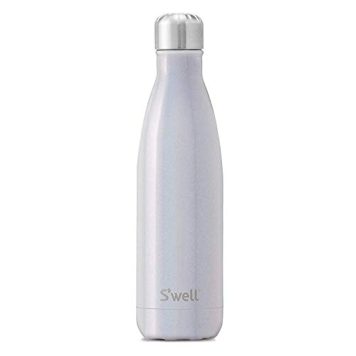 S'well Stainless Steel Water Bottle - 17 Fl Oz - Milky Way - Triple-Layered Vacuum-Insulated Containers Keeps Drinks Cold for 36 Hours and Hot for 18 - BPA-Free - Perfect for the Go