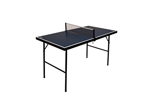 JOOLA Connect - Modular Mini Ping Pong Table - Magnetic Multi-Use Foldable Game Table - Compact Storage - Includes Ping Pong Net - No Assembly Required - Great for Kids and Adults