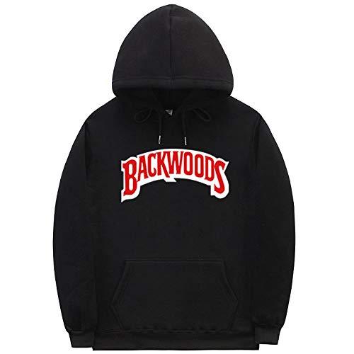 HNOSD Die Schraube Thread Manschette Hoodies Streetwear Backwoods Hoodie Sweatshirt Männer Mode Herbst Winter Hip Hop Hoodie Pullover