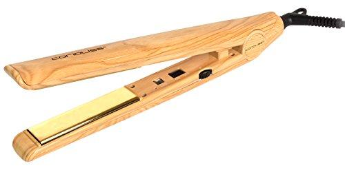 CORIOLISS C1 - Plancha alisadora de pelo, madera