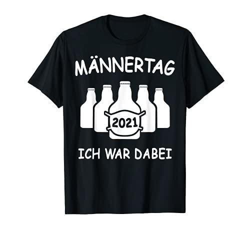 Männertag 2021 Lustige Sprüche Bier Männer Maske T-Shirt