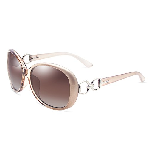 VeBrellen Luxury Women Polarized Sunglasses Retro Eyewear Oversized Goggles Eyeglasses …