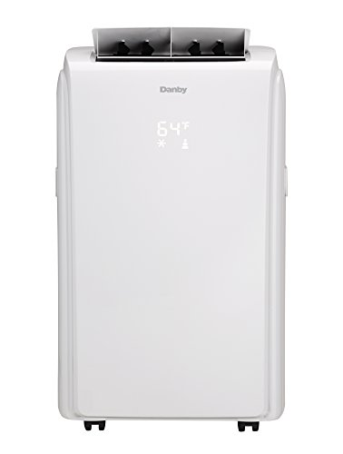 Danby DPA100EAUWDB Portable Air Conditioner, 10,000 BTU, White